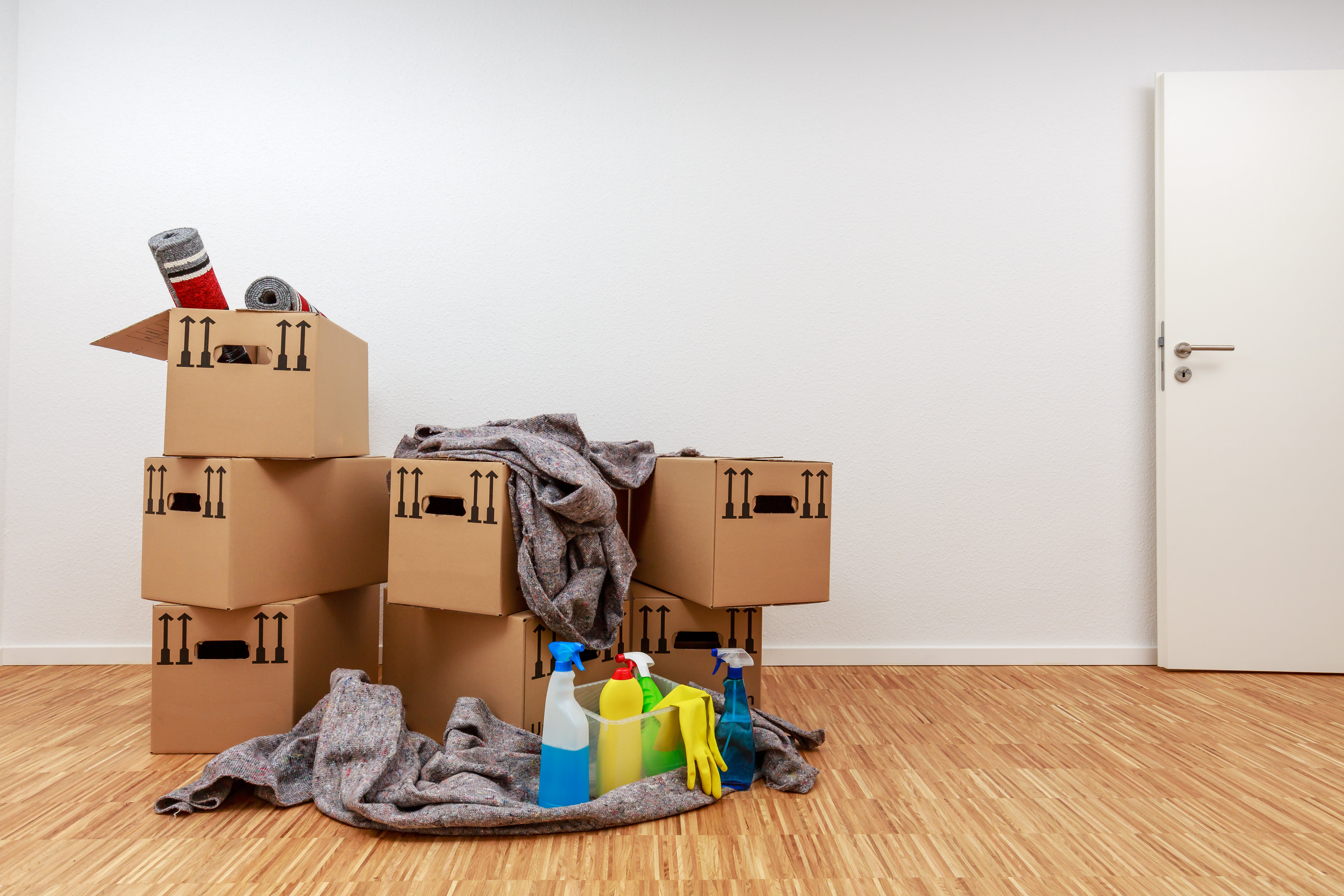 Move in/Move out Cleaning — Magic Cleaning